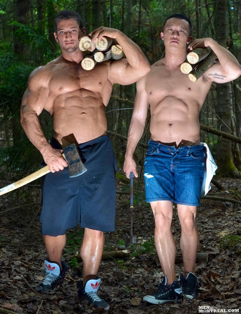 Men-of-Montreal-Archer-Quan-and-Christian-Power-Asian-Muscle-Man-Gets-Fucked-In-The-Ass-By-Hunk-Big-Asian-Cock-Amateur-Gay-Porn-05 Canadian Lumberjack Fucks A Muscle Asian Hunk In The Ass