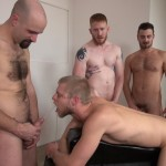 Raw-and-Rough-Bareback-Gay-Sex-Orgy-Amateur-Gay-Porn-08-150x150 Six Hairy Hung Guys Pounding A Bottom At A Bareback Sex Party