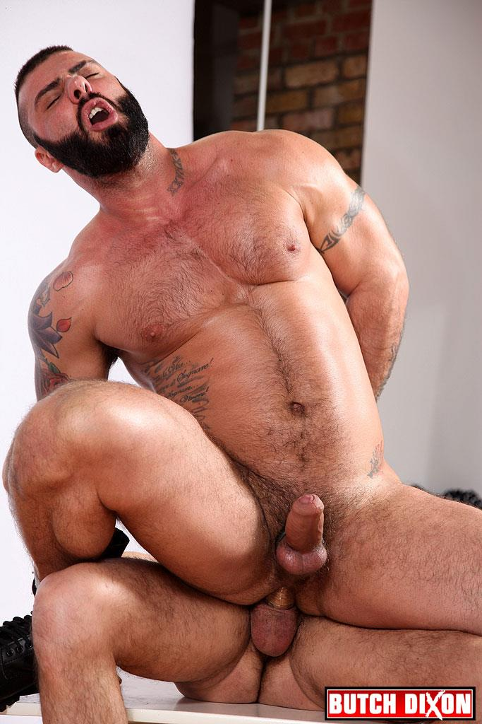 Butch-Dixon-Alex-Marte-and-Antonio-Garcia-Beefy-Hunks-With-Big-Uncut-Cocks-Fucking-Amateur-Gay-Porn-21 Beefy Burly Muscle Guys With Thick Uncut Cocks Fucking Hard