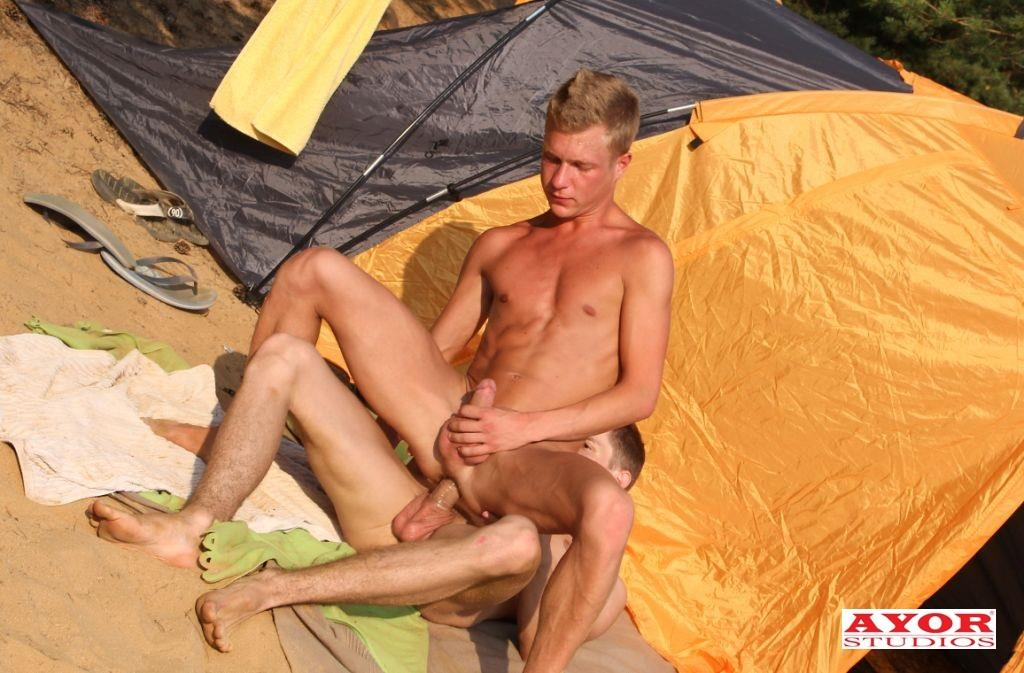 Ayor-Studios-Jakub-Jelinek-and-Kevin-Ateah-Big-Uncut-Cock-Twinks-Fucking-At-The-Beach-Amateur-Gay-Porn-11 Big Uncut Cock Twinks Camping And Fucking At The Beach