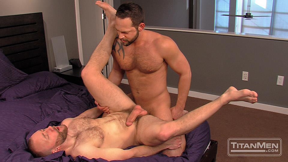 Titan Men Nick Prescott and Tyler Edwards Hairy Muscle Hunks Fucking With Big Cocks Amateur Gay Porn 16 Hairy Muscle Boyfriends Nick Prescott and Tyler Edwards Fucking
