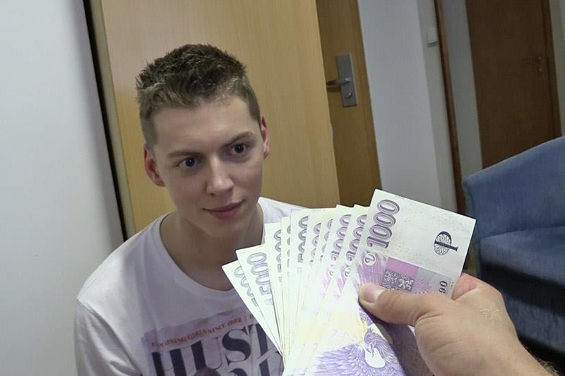 Czech Hunter Guy Pays Twink For Bareback Sex Amateur Gay Porn 08 Czech Twink Gets Barebacked By A Big Uncut Cock For Cash