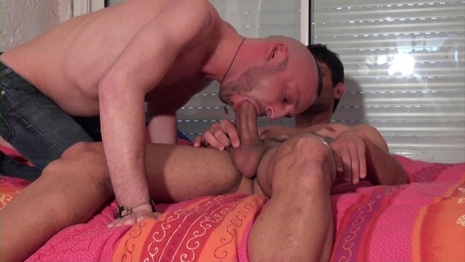 French-Dudes-Niko-Corsica-and-Matt-Surfer-Mohawk-Guy-Fucked-By-Thick-Uncut-Cock-Amateur-Gay-Porn-02 Mohawk Dude Takes A Thick Uncut Cock Up The Ass