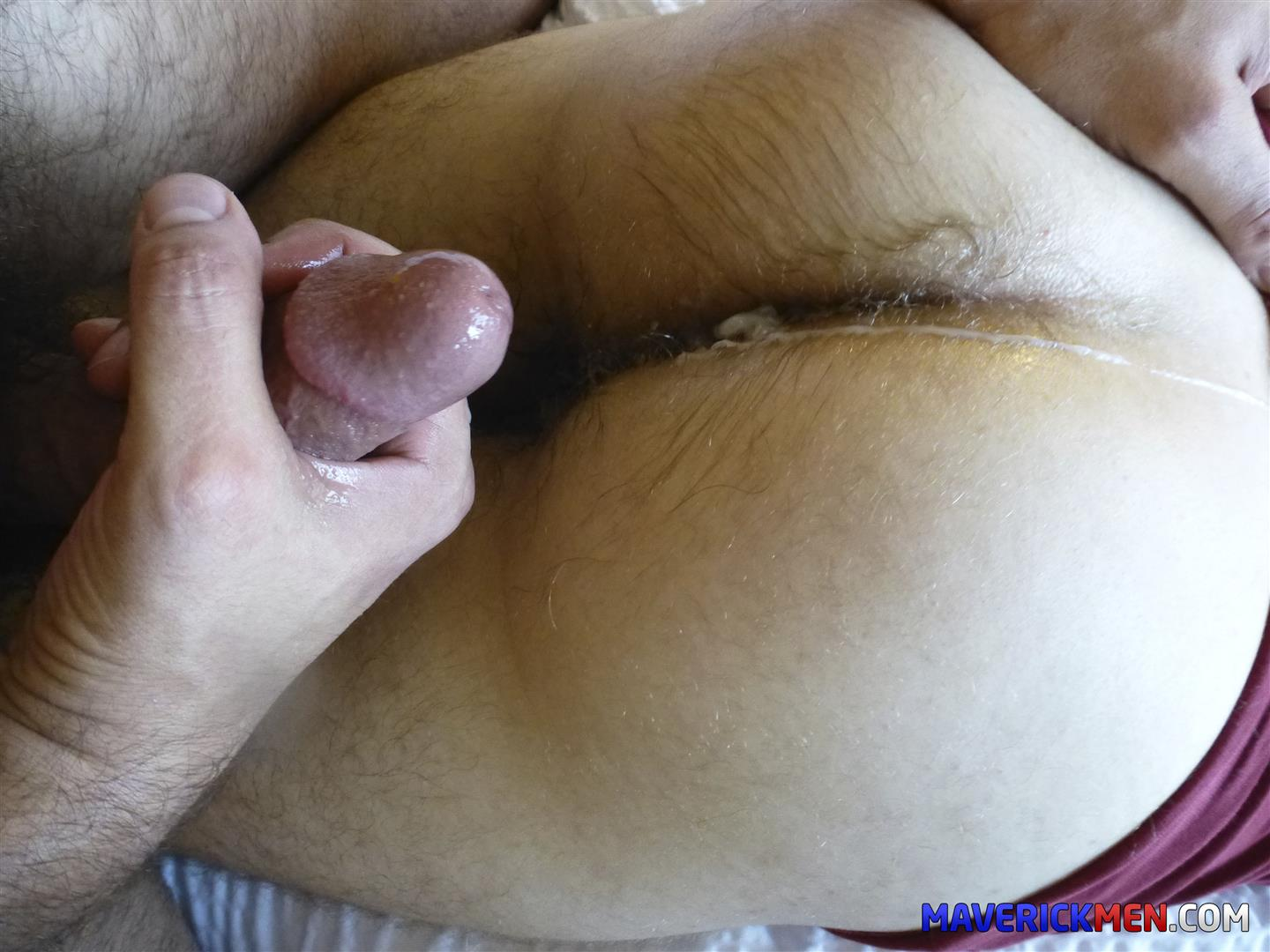 Maverick-Men-Little-Bobby-Hairy-Ass-Virgin-Gets-Barebacked-Amateur-Gay-Porn-08 Hairy Ass Young Virgin Gets Barebacked By Two Muscle Daddies