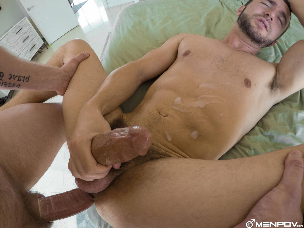 MenPOV-Colt-Rivers-and-Adam-Herst-Daddy-Fucking-His-Boy-Toy-With-A-Thick-Cock-Amateur-Gay-Porn-25 Muscular Daddy Fucking His Boy Toy With His Thick Hard Cock