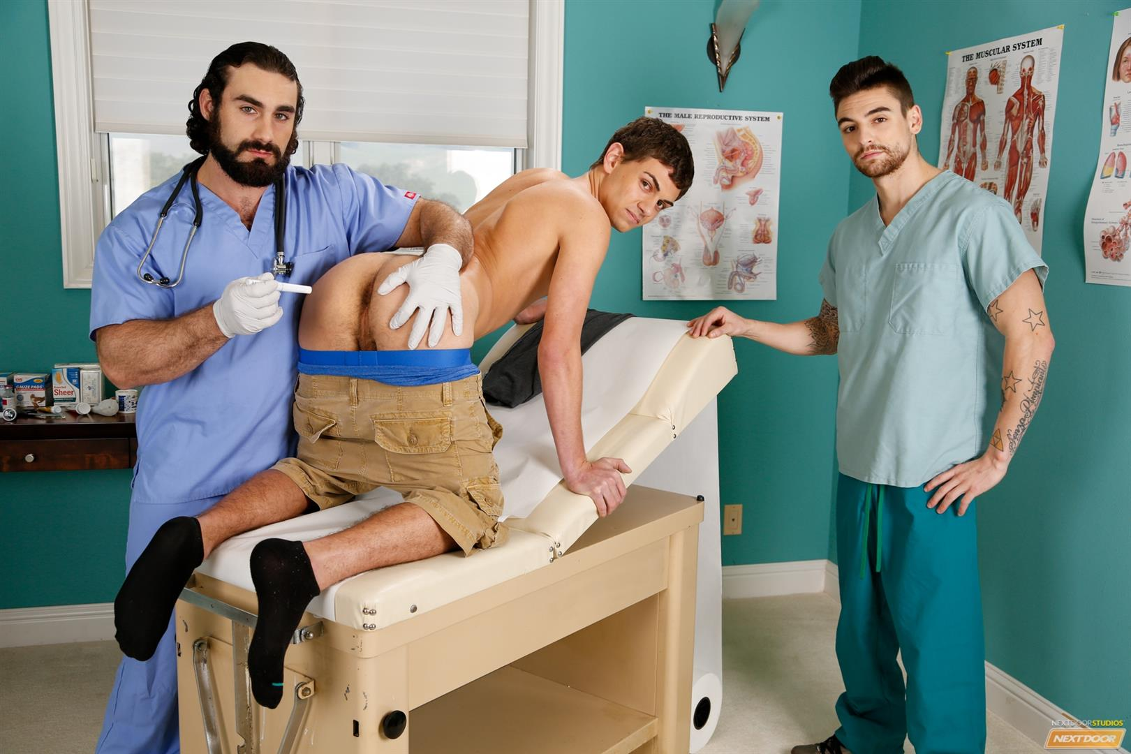 Next-Door-Twink-Johnny-Torque-and-Kevin-Summers-and-Jaxton-Wheeler-Amateur-Gay-Porn-01 Twink Kevin Summers Visits His Doctor & Gets Fucked In The Ass