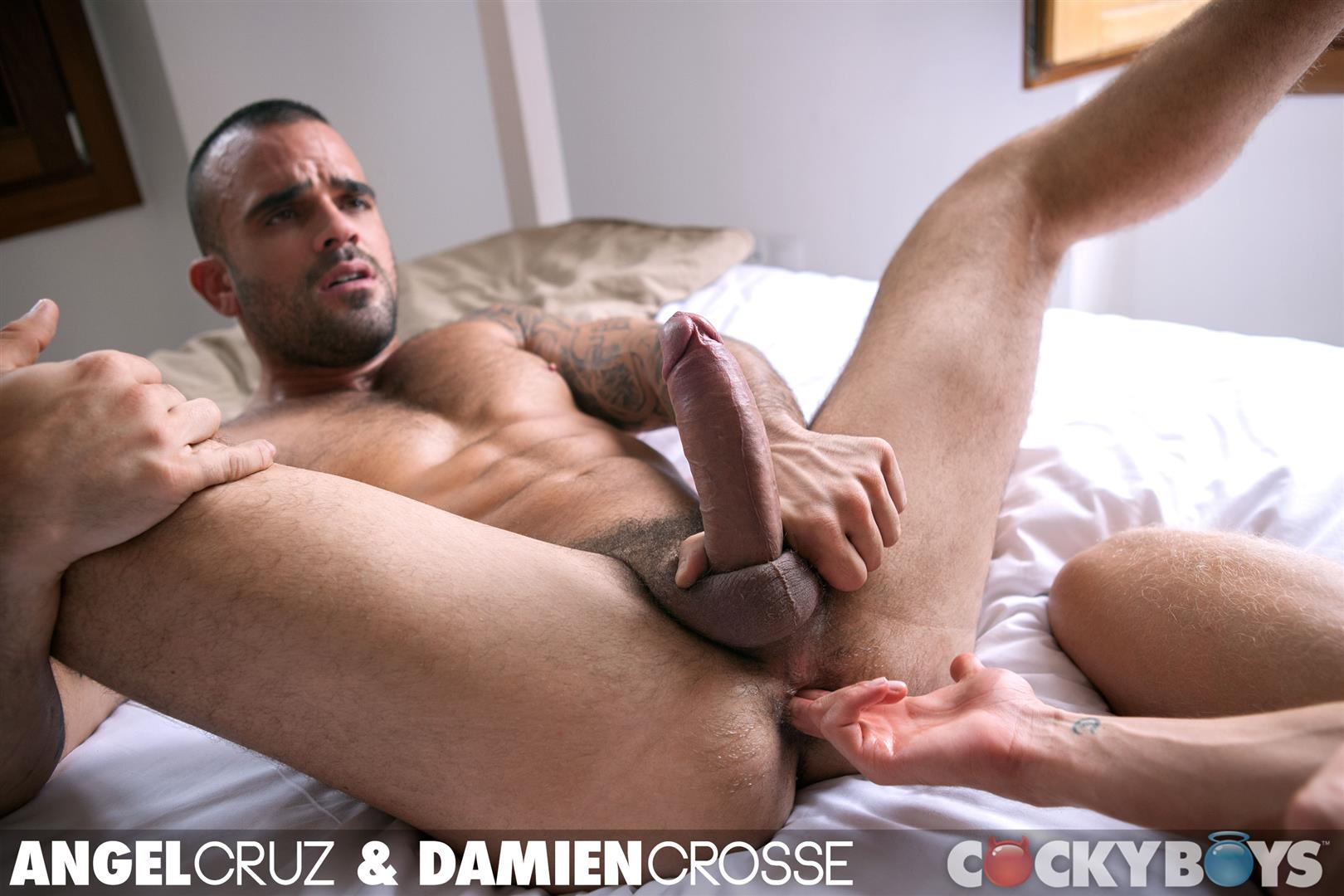 Cockyboys Angel Cruz and Damien Cross Big Uncut Cocks Fucking Amateur Gay Porn 35 Angel Cruz and Damien Cross Flip Fucking With Their Big Uncut Cocks