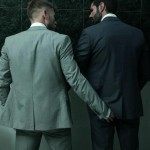 Men-At-Play-Matthew-Anders-and-Dani-Robles-Men-In-Suits-With-Big-Cocks-Fucking-Amateur-Gay-Porn-02-150x150 Looking For Cock and A Fuck In the Men's Restroom