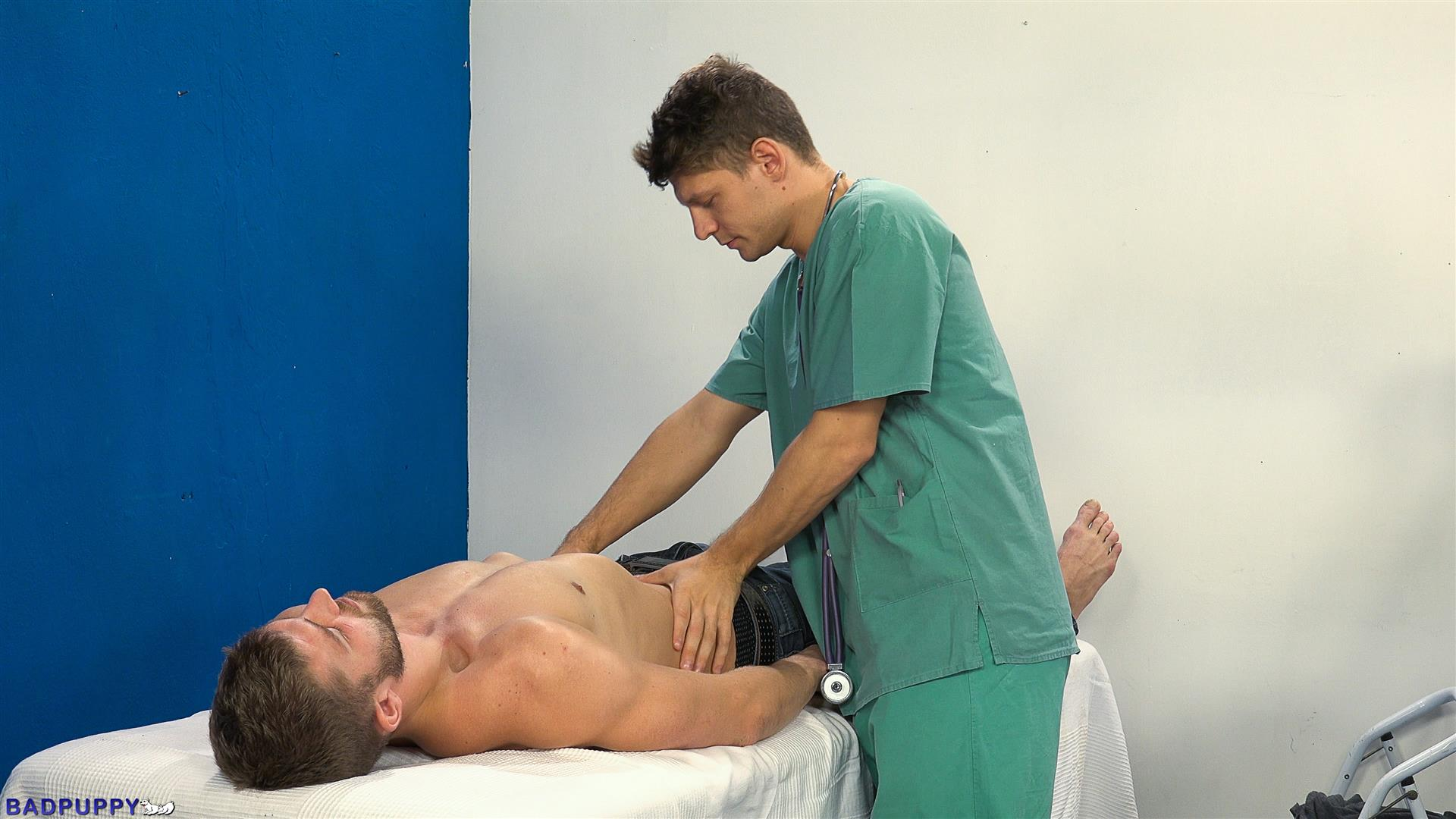 Badpuppy-Nikol-Monak-and-Rosta-Benecky-Czech-Guys-Fucking-Bareback-Amateur-Gay-Porn-04 Czech Hunks With Big Uncut Cocks Fucking At The Doctors Office
