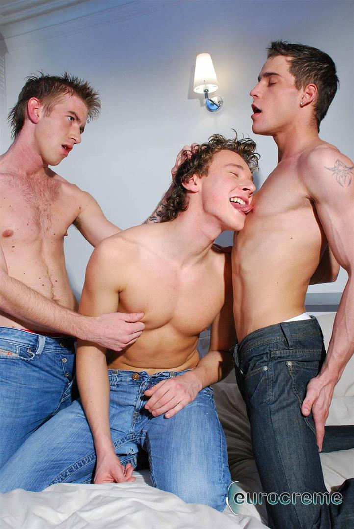 Eurocreme Matt Hughes and Alex Stevens and Philipe Delvaux Twinks Fucking Amateur Gay Porn 03 Matt Hughes Uses His 11 Inch Uncut Cock On Two Tricks
