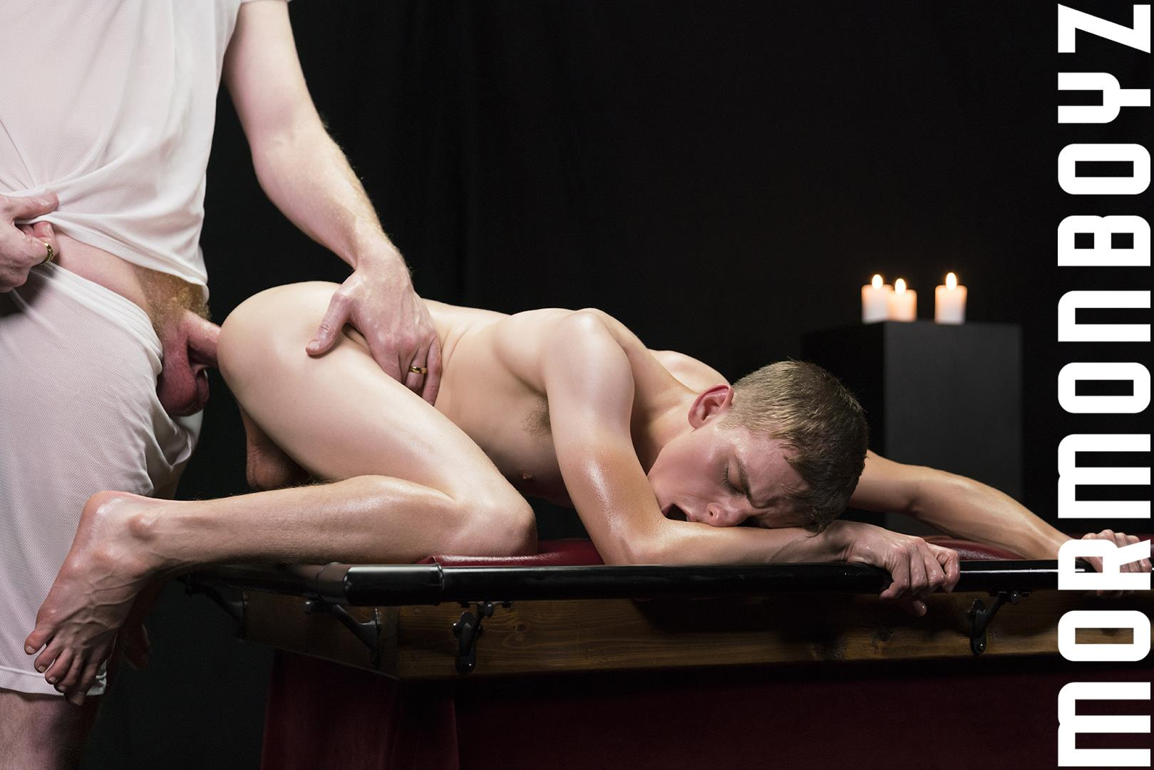 Mormon-Boyz-Older-Big-Dick-Daddy-Barebacking-Younger-Twink-Gay-Sex-Video-22 Mormon Missionary Twink Takes A Thick Daddy Cock Up The Ass Raw