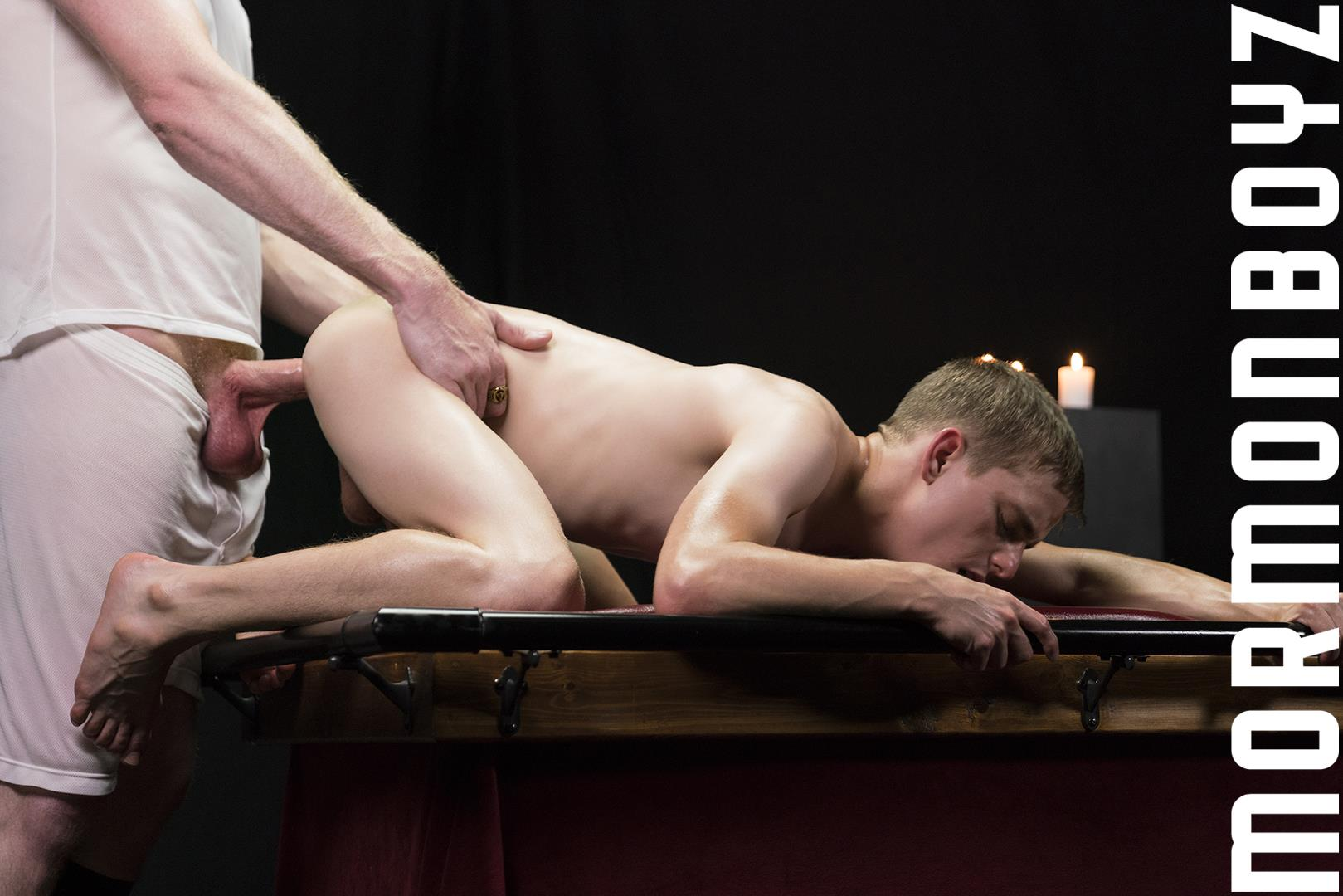 Mormon-Boyz-Older-Big-Dick-Daddy-Barebacking-Younger-Twink-Gay-Sex-Video-24 Mormon Missionary Twink Takes A Thick Daddy Cock Up The Ass Raw